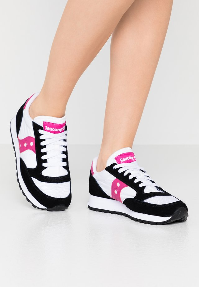 JAZZ VINTAGE - Sneakers laag - white/black/berry