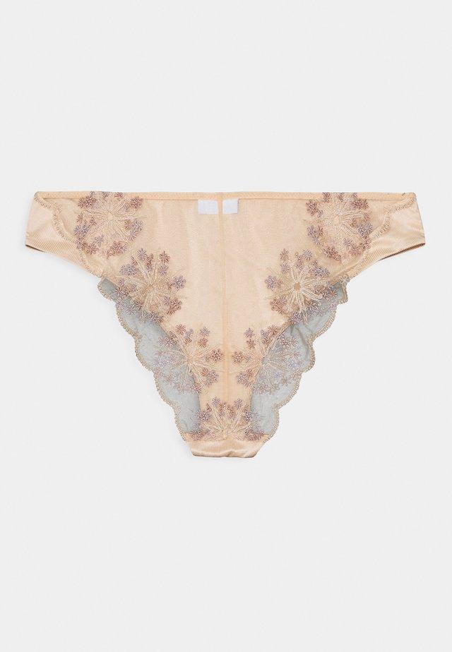 FLOWER EXPLOSION BRIEF - Alushousut - nude