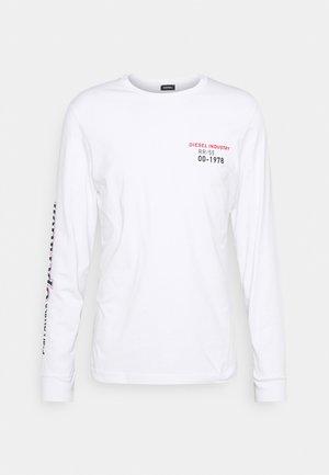 DIEGOS UNISEX - Pitkähihainen paita - white