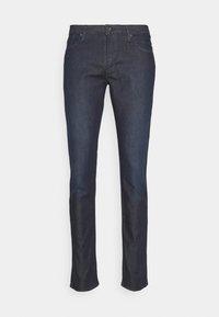 Emporio Armani - POCKETS PANT - Slim fit jeans - dark blue denim - 3