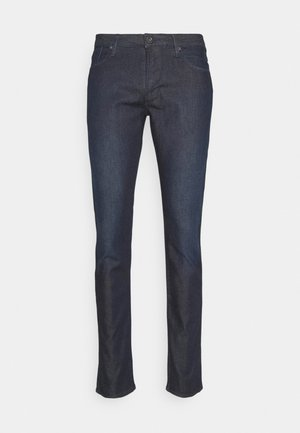 POCKETS PANT - Slim fit jeans - dark blue denim