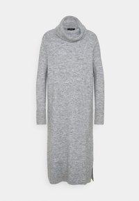 Opus - WEFI - Strikket kjole - hazy fog melange - 0