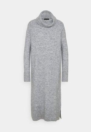 WEFI - Strikket kjole - hazy fog melange