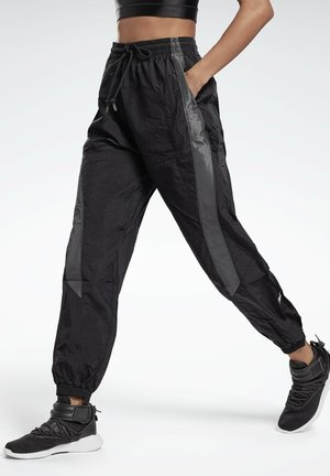 STUDIO WOVEN PANTS - Tracksuit bottoms - black