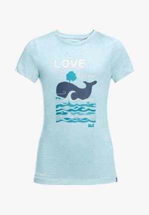 OCEAN - Print T-shirt - gulf stream