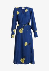 IVY & OAK - WRAP DRESS MIDI - Korte jurk - blue - 5