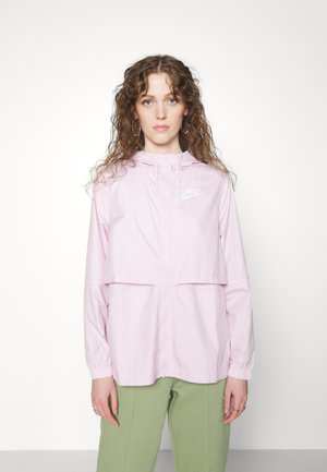 Summer jacket - regal pink/white