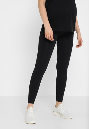 MATERNITY CORE - Leggings - black