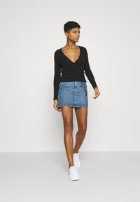 Envii - ENALLY TEE - Long sleeved top - black - 1