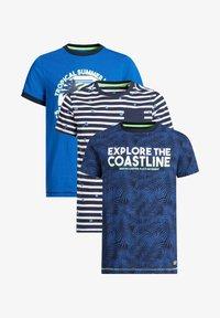 WE Fashion - T-shirts print - blue - 0