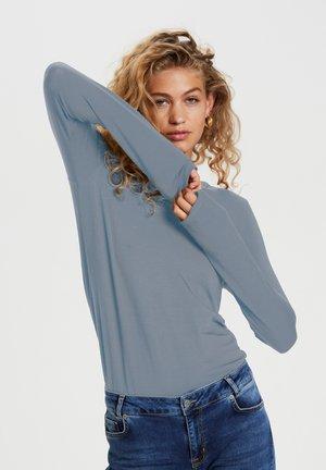 Long sleeved top - ashley blue