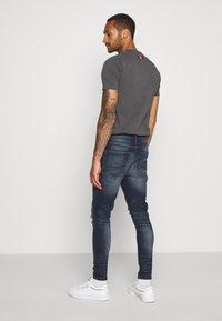 Brave Soul - OLIVER - Jeans Skinny Fit - dark blue wash - 2