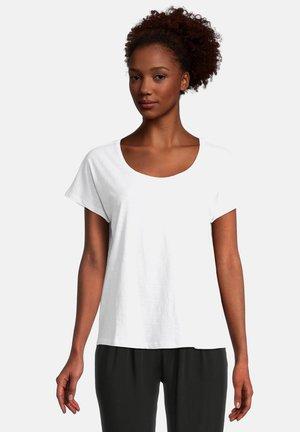 T-shirt basic - weiß