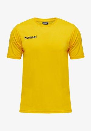 T-shirt imprimé - sports yellow/black