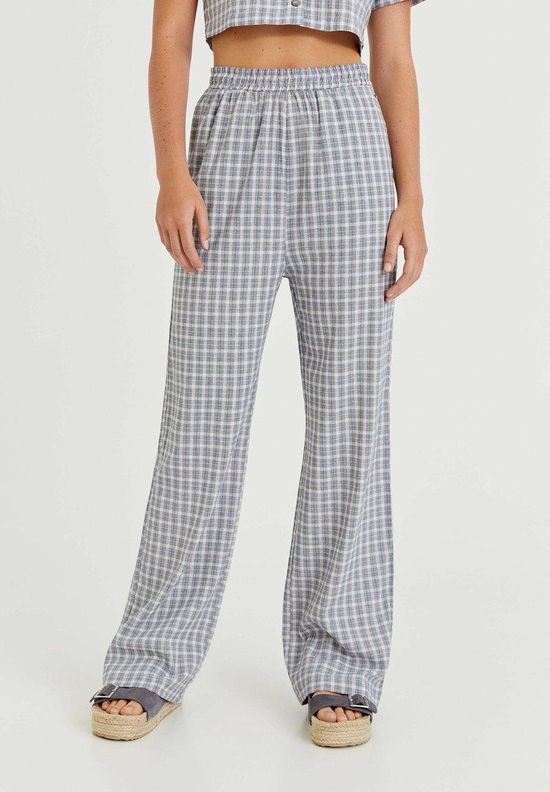 PULL&BEAR - Kalhoty - light grey