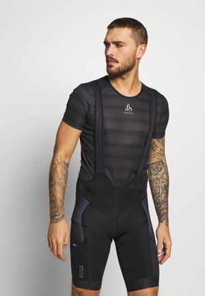 IN-BIBSHORTS PAZE - Legginsy - black
