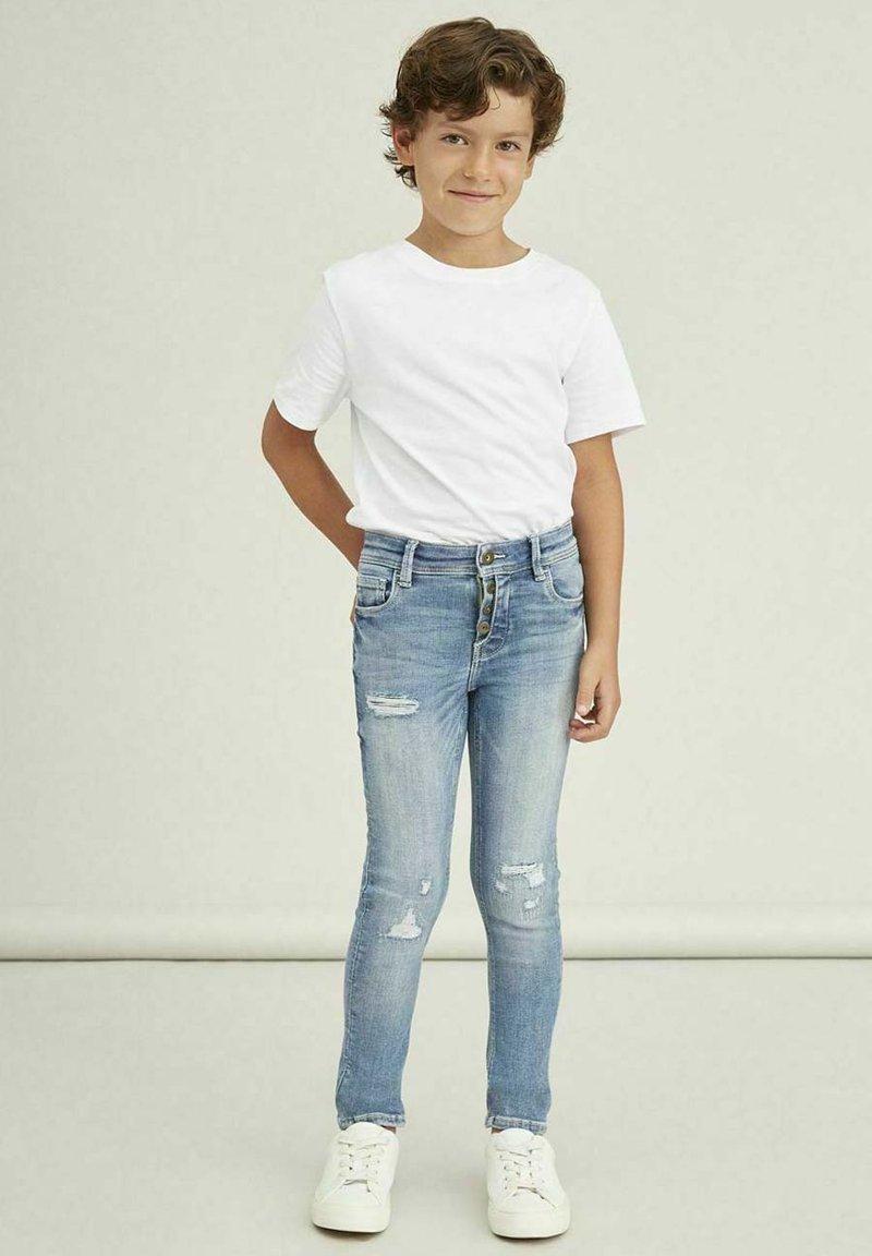 Name it - Jeans Skinny Fit - light blue denim