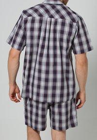 Jockey - PYJAMA 1/2 WOVEN - Pyjama set - red/white - 2