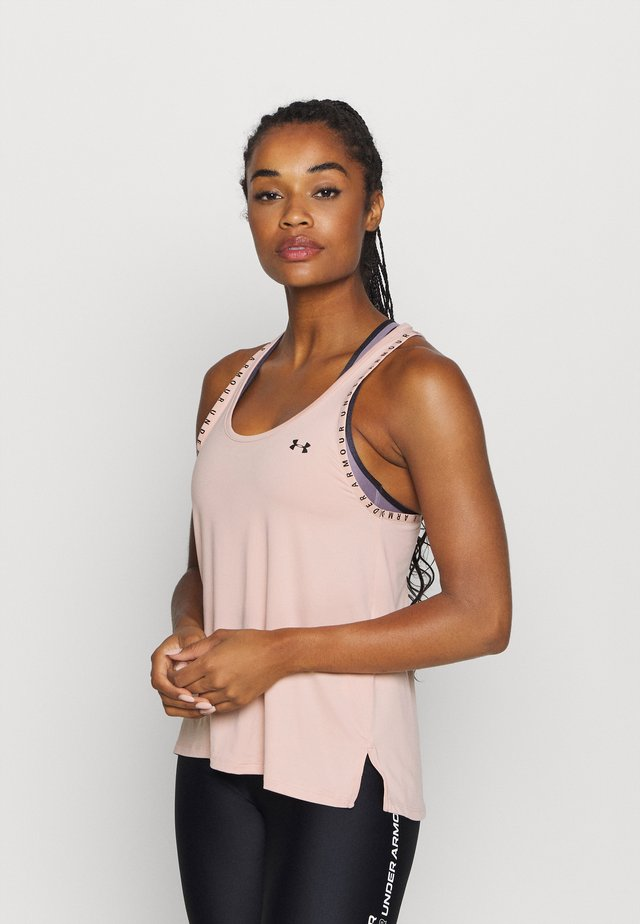 KNOCKOUT - Camiseta de deporte - desert rose