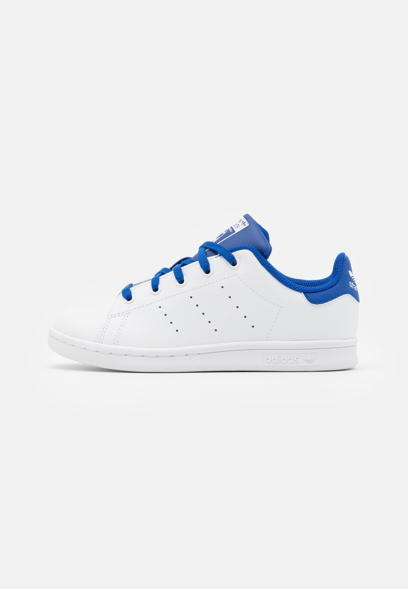adidas Originals - STAN SMITH UNISEX - Trainers - footwear white/royal blue