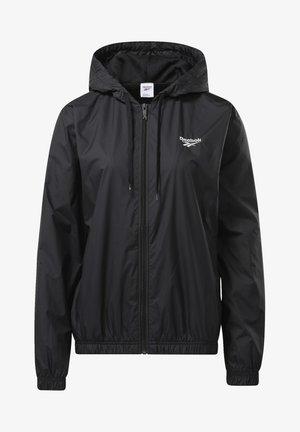CLASSICS VECTOR WINDBREAKER - Summer jacket - black