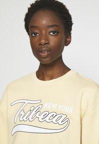 Gina Tricot - RILEY  - Sweatshirt - vanilla/tribeca - 3