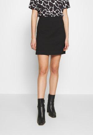 JOSINA SKIRT - Mini skirt - schwarz
