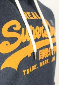 Superdry - HERREN VL  - Hoodie - downhill navy marl - 2