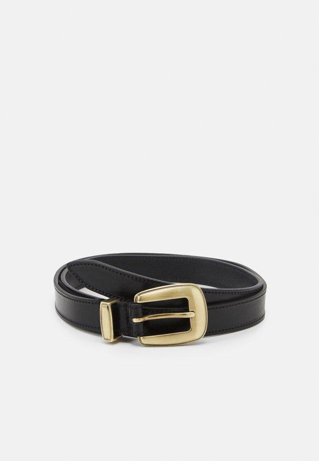 CHARM BELT - Cintura - black
