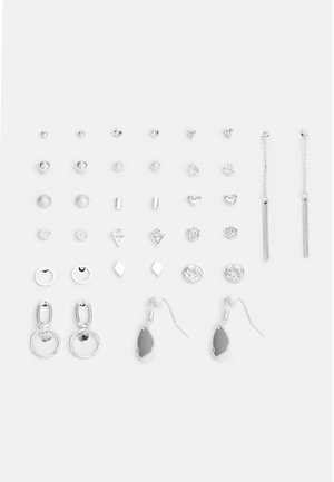 CARMELA EARRING 18 PACK - Øredobber - silver-coloured