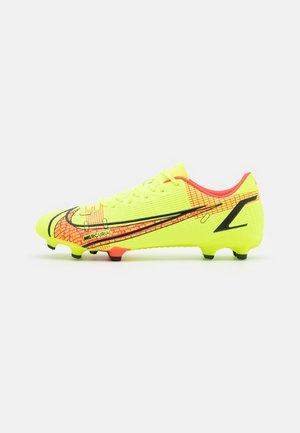 MERCURIAL VAPOR 14 ACADEMY FG/MG - Moulded stud football boots - volt/bright crimson