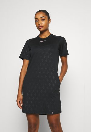 PARIS ST GERMAIN DRESS - Pelipaita - black/arctic punch