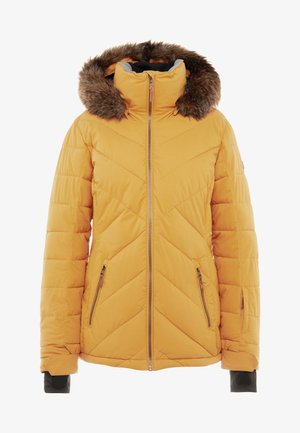 QUINN  - Snowboard jacket - spruce yellow
