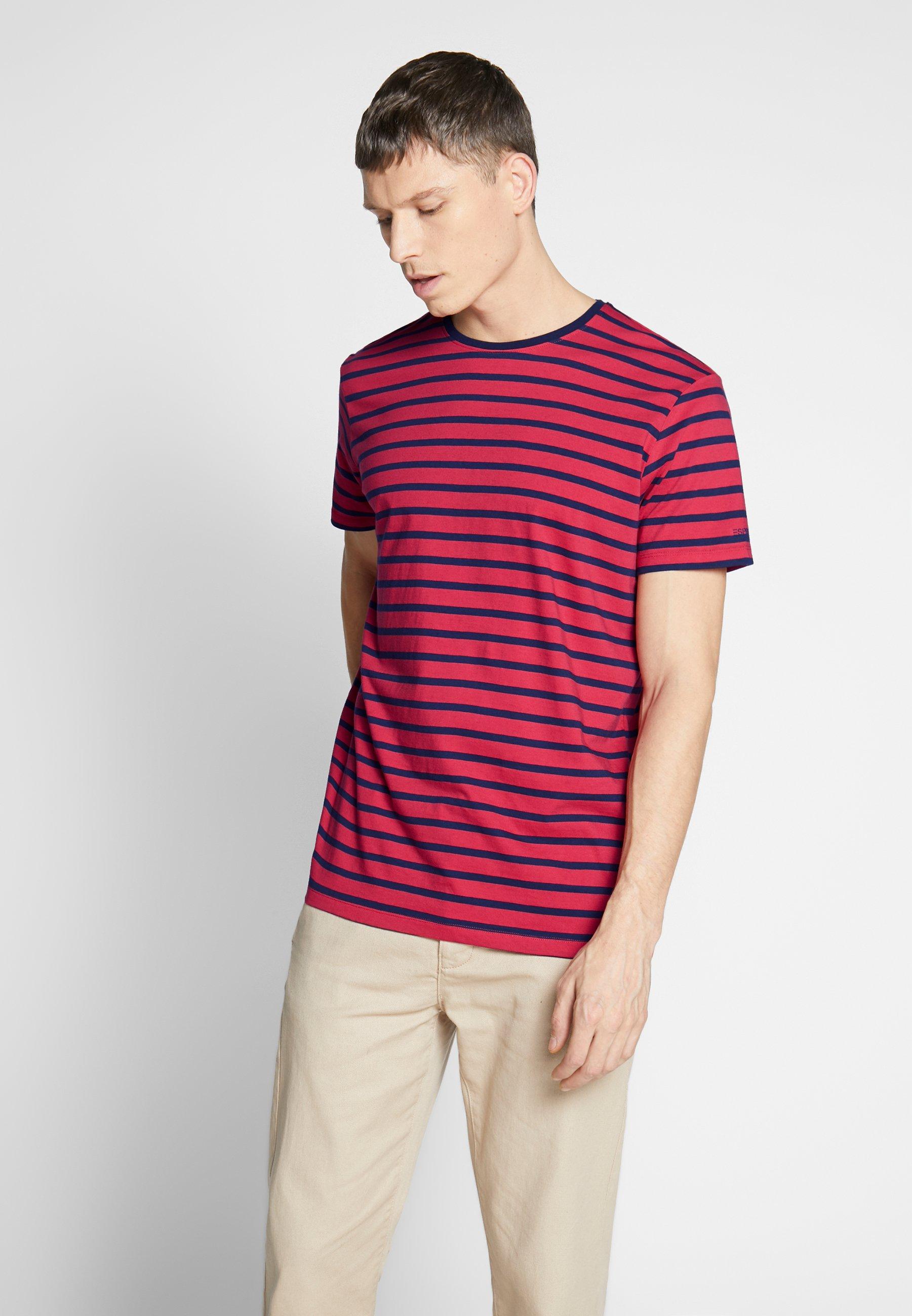 Homme T-shirt imprimé - red