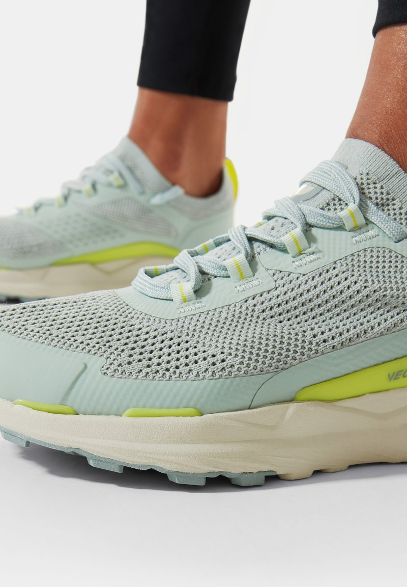 The North Face - ESCAPE - Hiking shoes - green mist wrought iron