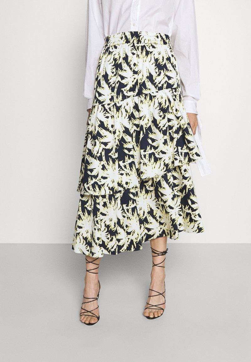 Diane von Furstenberg - LONDON SKIRT - A-line skirt - navy