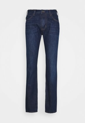 POCKETS PANT - Džíny Slim Fit - dark blue