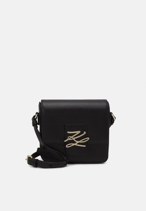 AUTOGRAPH CROSSBODY - Across body bag - black