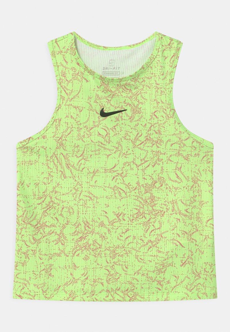 Nike Performance - Top - lime glow/black