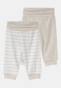Jacky Baby - 2 PACK UNISEX - Kalhoty - white/beige - 0