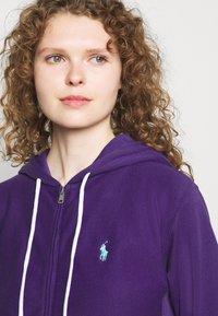 Polo Ralph Lauren - FEATHERWEIGHT - Zip-up sweatshirt - purple rage - 3
