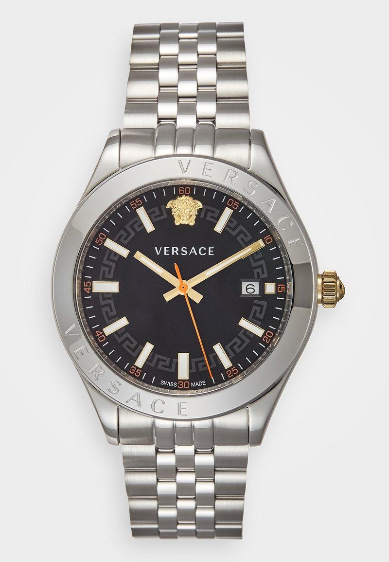 Versace Watches - HELLENYIUM - Zegarek - silver-coloured/black