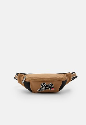 Boss x Russell Athletic ADDISON BUMABG - Saszetka nerka - medium beige