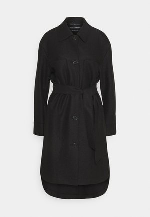 BOILED  - Classic coat - black