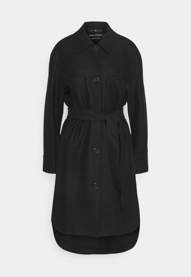 BOILED  - Zimní kabát - black