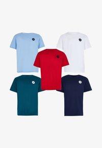River Island - Basic T-shirt - red - 0
