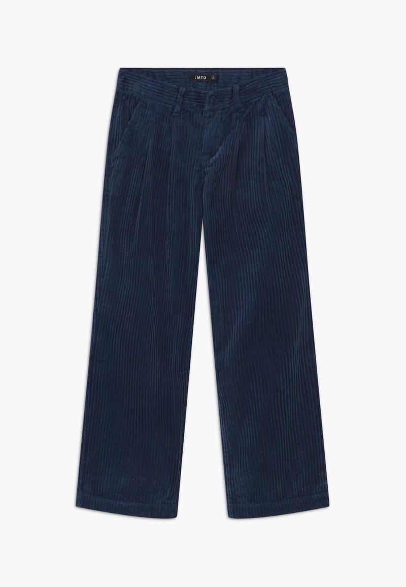 LMTD - WIDE - Kalhoty - dress blues