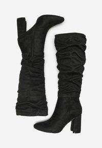 ONLY SHOES - Laarzen met hoge hak - black - 1