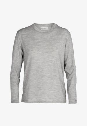 Long sleeved top - blizzard hthr
