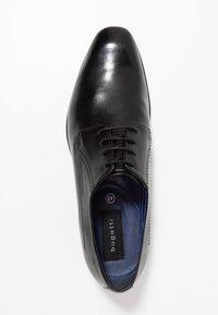 Bugatti - MATTIA - Smart lace-ups - black - 1